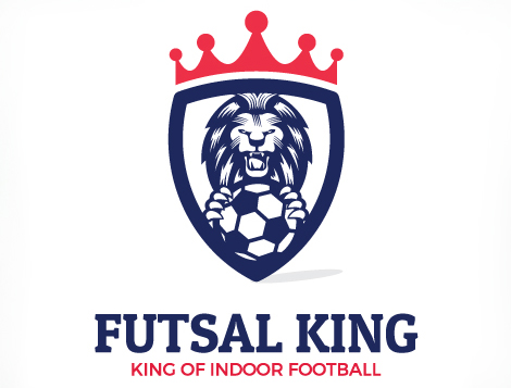 Logo Design Futsal King Logo Design Services Manchester