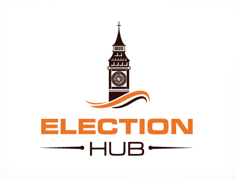 Logo Design Election Hub Logo Design Services Manchester