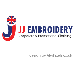 JJ Embroidery logo